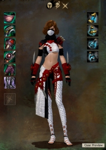 Sexy Girl armor guild Wars 2